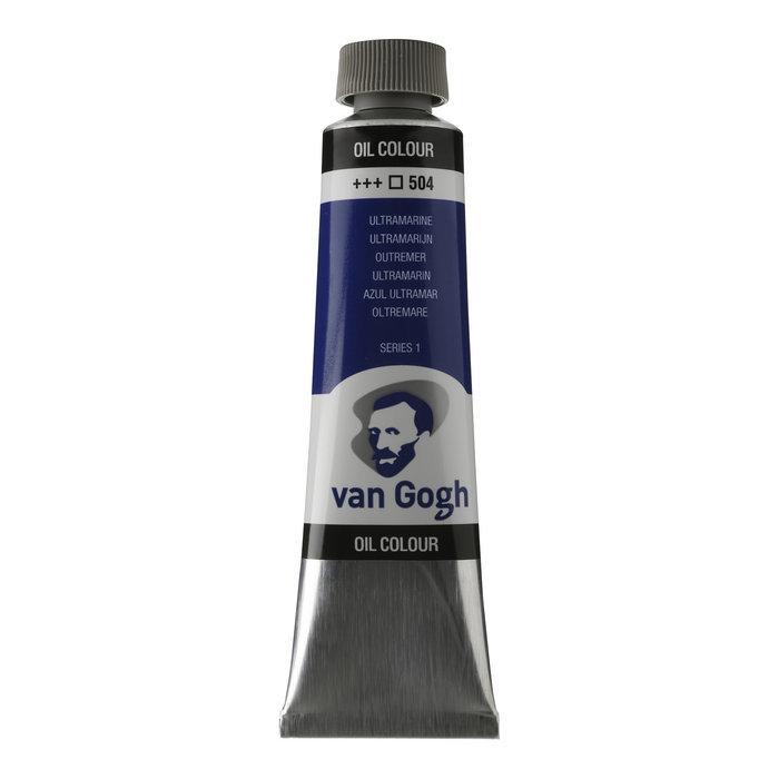 Pintura oleo van gogh 40ml azul ultramarino