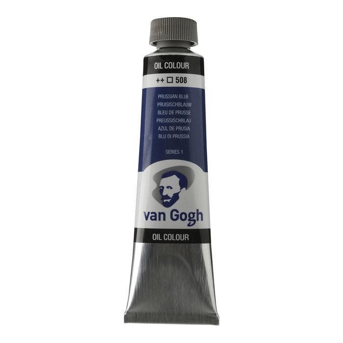 Pintura oleo van gogh 40ml azul prussian