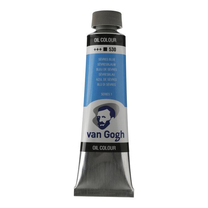 Pintura oleo van gogh 40ml azul sevres
