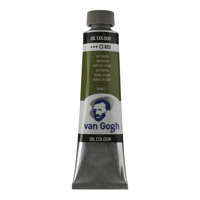 Pintura oleo van gogh 40ml verde vejiga