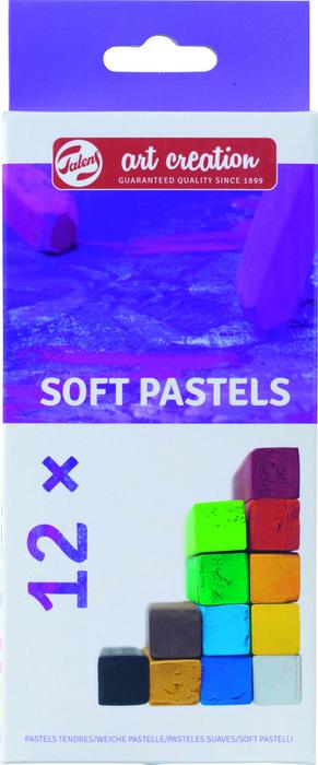 Pasteles suaves talens art creation estuche 12 unidades