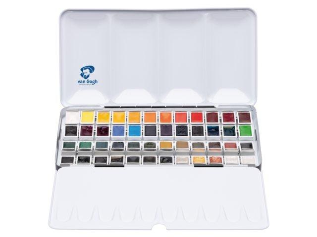 Acuarela van gogh  estuche metal 48 colores