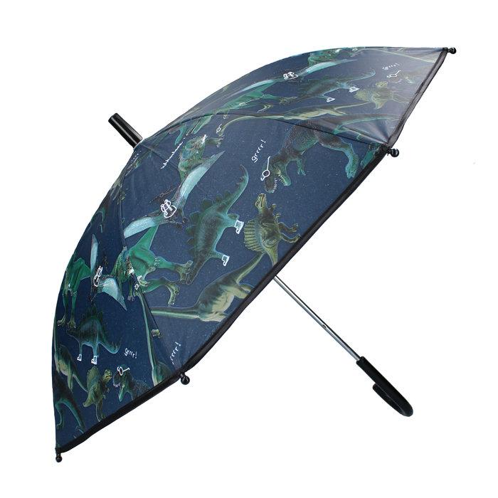 Paraguas dinosaurios azul marino dont worry
