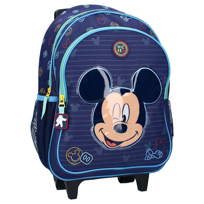 Mochila con carro mickey mouse be kind
