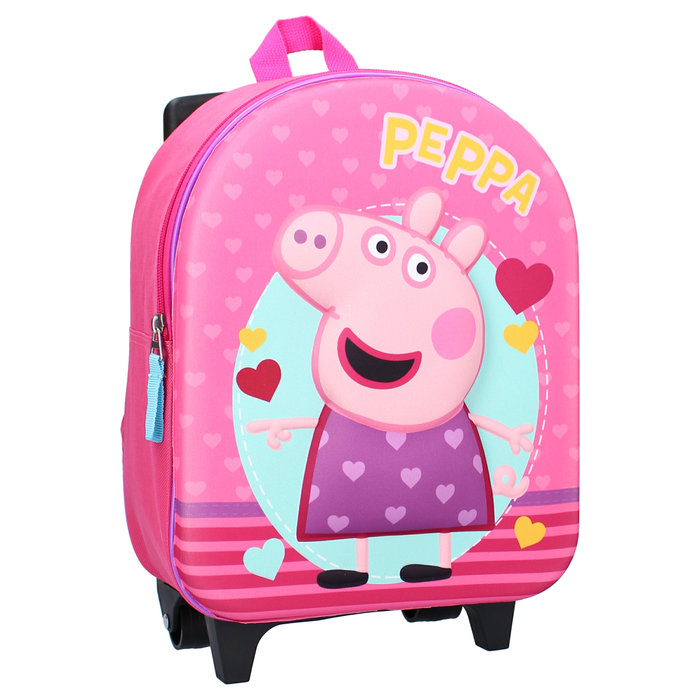 Mochila con carro peppa pig (3d) strong together
