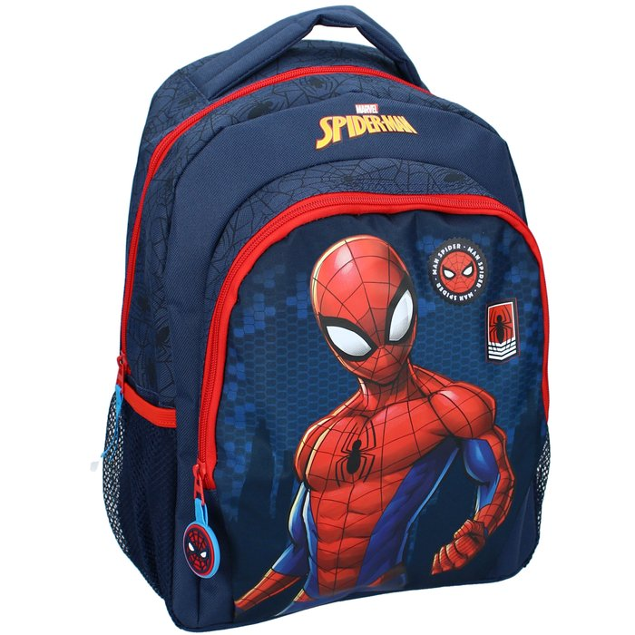 Mochila spider-man be strong