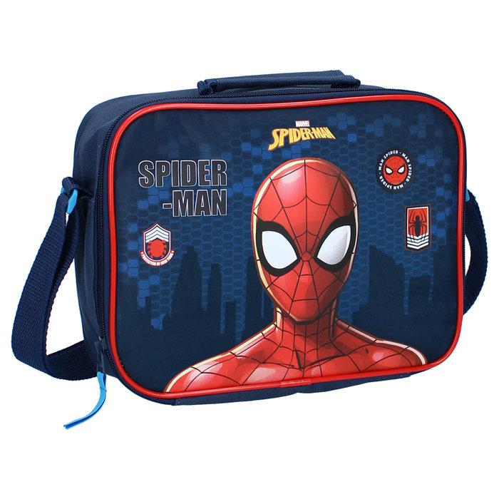 Cartera extraescolar spider-man lunchtime!