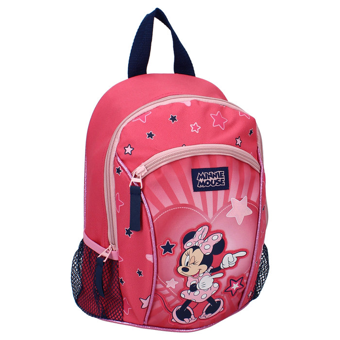 Mochila minnie mouse all you need is fun