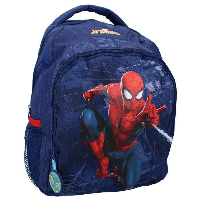 Mochila escolar doble spider-man bring it on