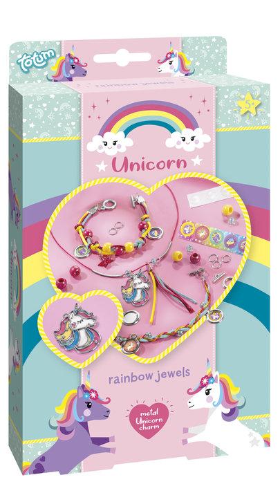 Juego pulseras unicornio