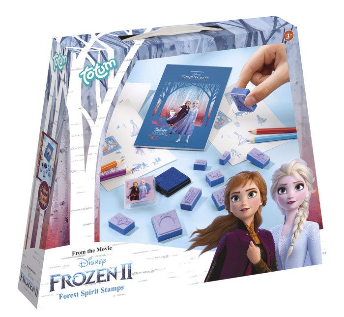 Juego sellos frozen 2 forest spirit