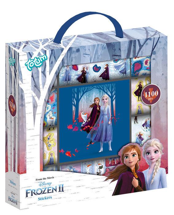 Maletin stickers frozen + libro