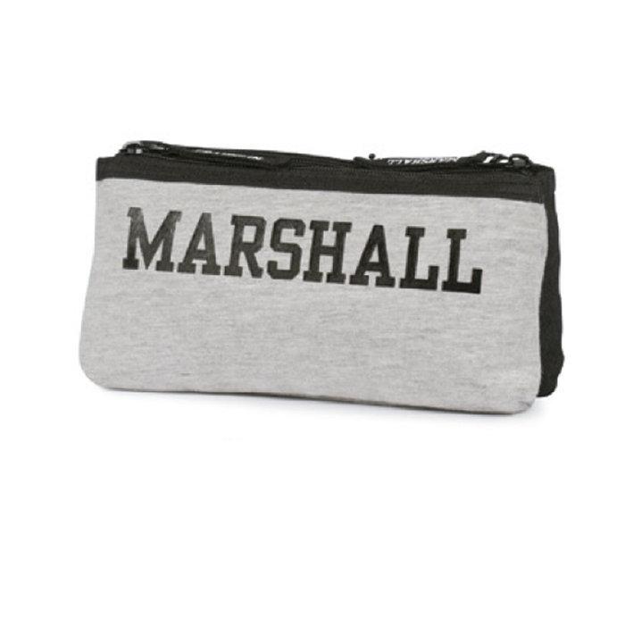 Portatodo 2 cremalleras franklin & marshall gris-negro