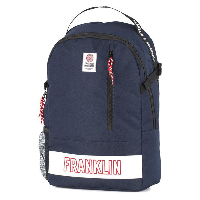 Mochila 2 compartimentos franklin & marshall azul oscuro