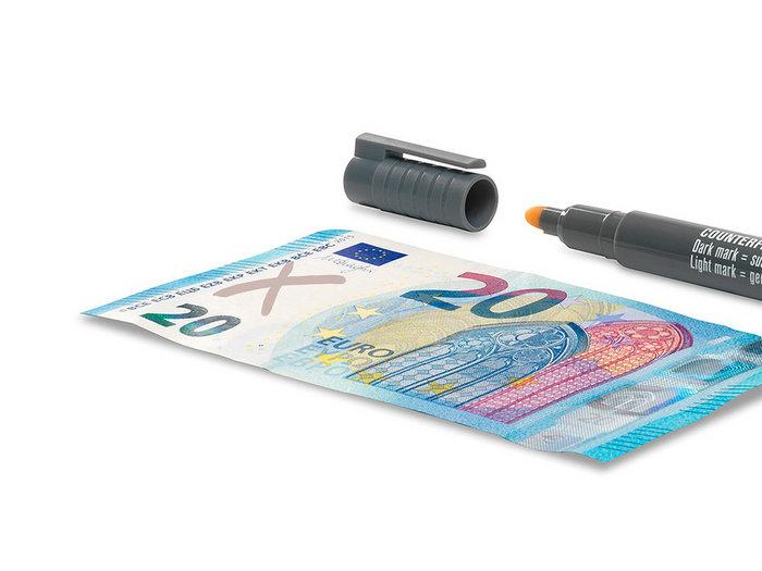 Rotulador detector de billetes falsos safescan 30