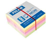 Taco nota adhesivas milan 50x50 4 colores 250 hojas