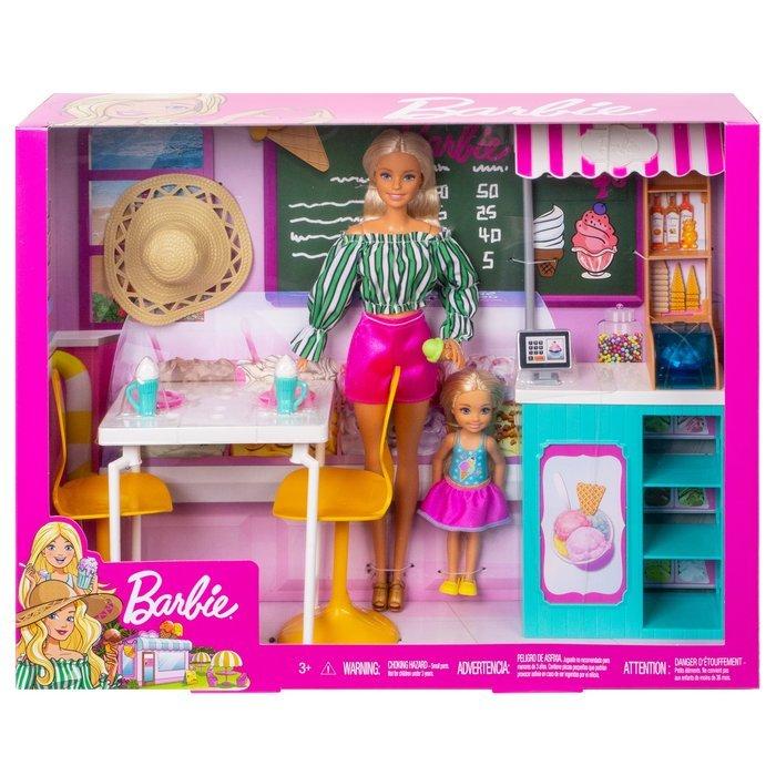 MuÑeca barbie + heladeria