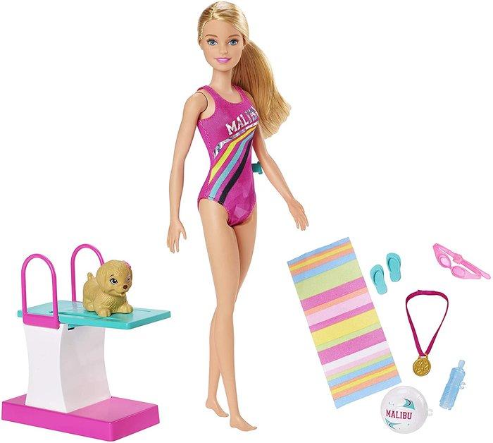 MuÑeca barbie y accesorios nada bucea dreamhouse adventures