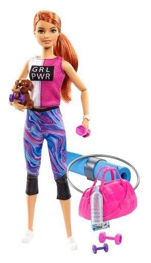 Barbie bienestar gimnasio