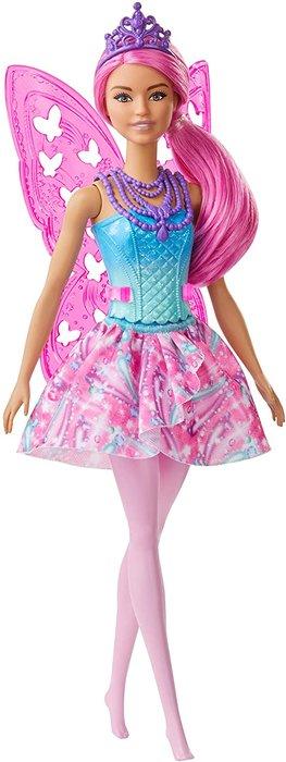 MuÑeca hada barbie 1 rosa