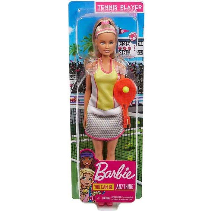 Muñeca barbie yo quiero ser tenista con accesorios