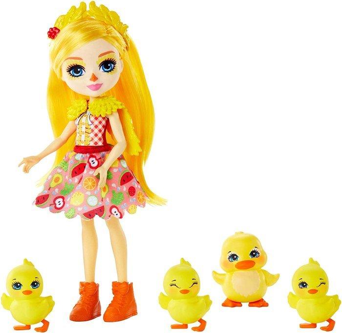 MuÑecas enchantimals dina duck y pato slosh