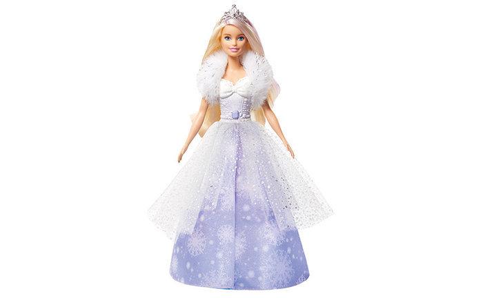 MuÑeca barbie princesa vestido magico