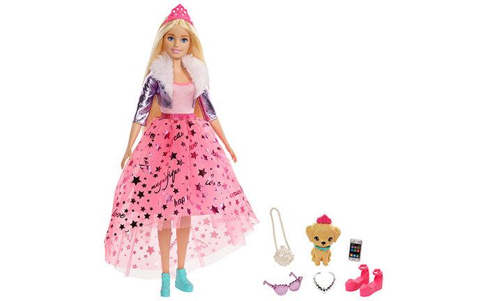 MuÑeca princesa deluxe de barbie 1 (cp4)