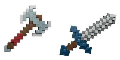 Minecraft sound foam battle role play 2 modelos surtidos
