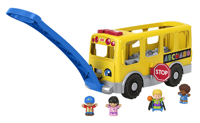 Autobus escolar little people grande lp-cs