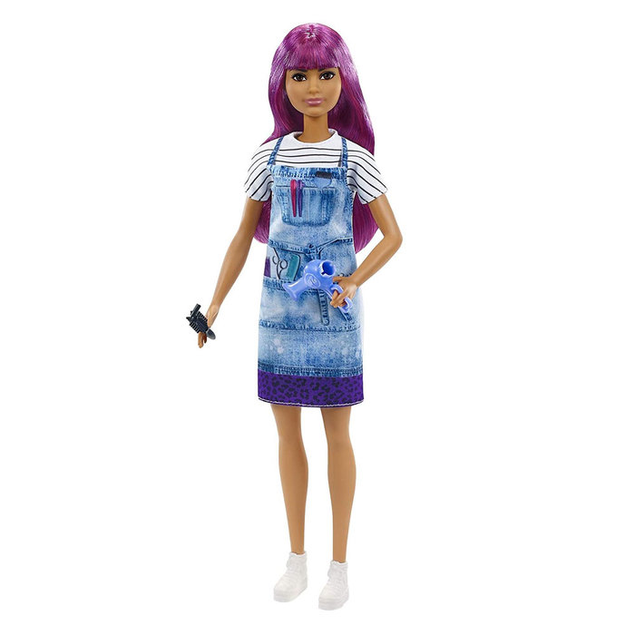 Muñeca barbie yo quiero ser peluquera