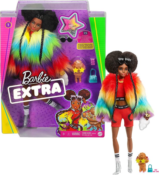 MuÑeca barbie fashionista extra doll 4