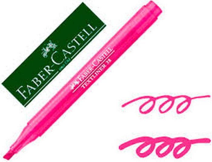 Marcador fluorescentes textliner 38 rosa