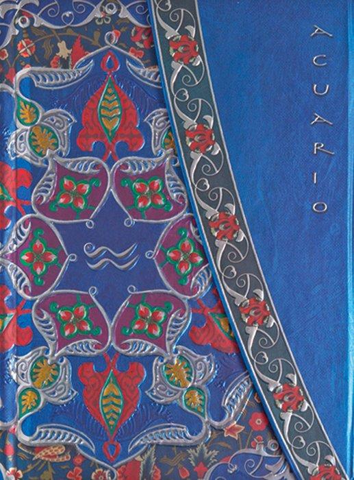 Cuaderno boncahier zodiaco acuario