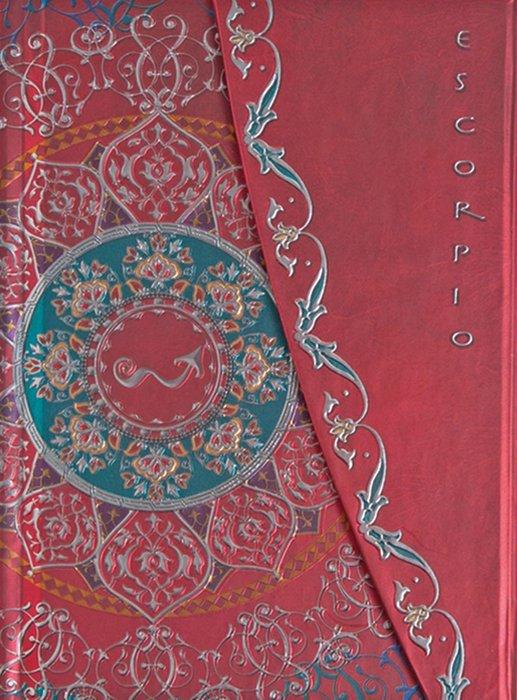 Cuaderno boncahier zodiaco escorpio