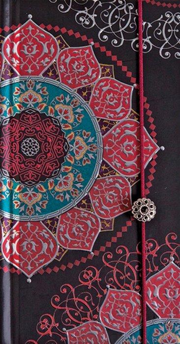 Cuaderno boncahier de oriente cordon granate