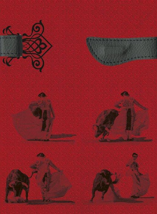 Cuaderno boncahier taurina rojo