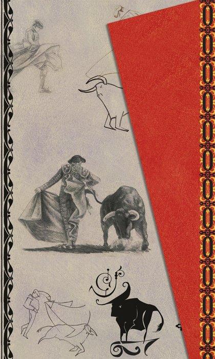 Cuaderno boncahier albero gris y rojo