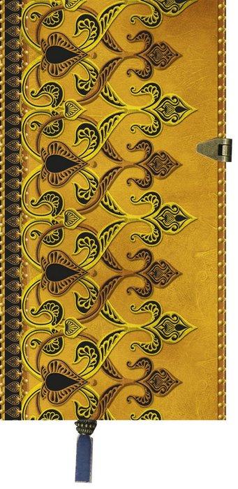 Cuaderno boncahier las mil y una noches dorado