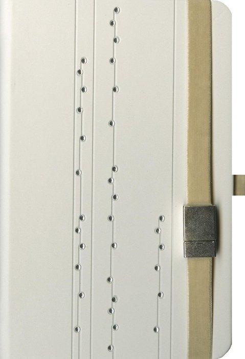 Cuaderno boncahier art deco beige