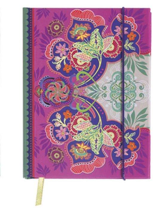 Cuaderno collage mini rosa