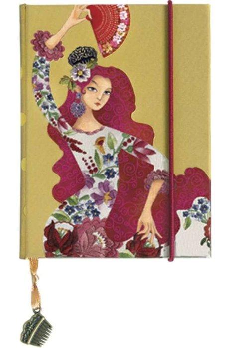 Cuaderno liso flamenco alegrias