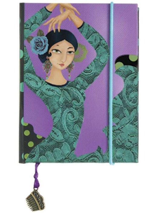 Cuaderno liso flamenco bulerias