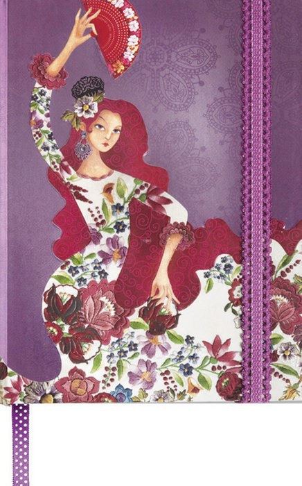 Cuaderno boncahier flamenco alegrias