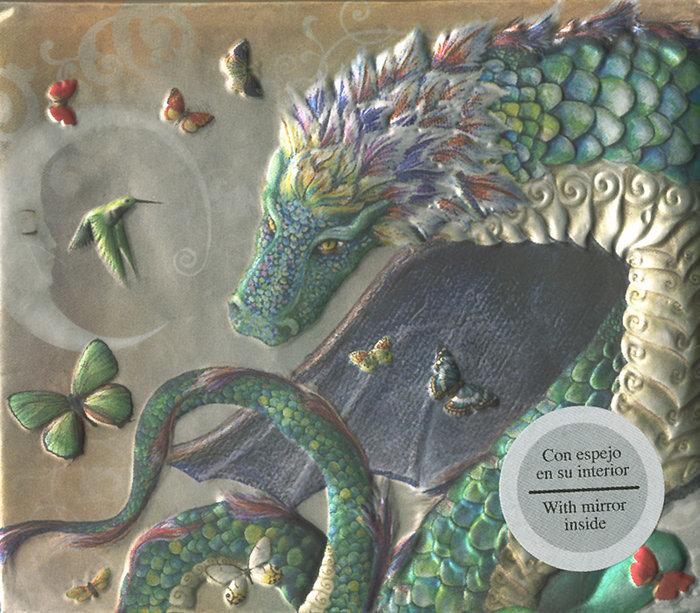 Cuaderno boncahier block mirror dragon