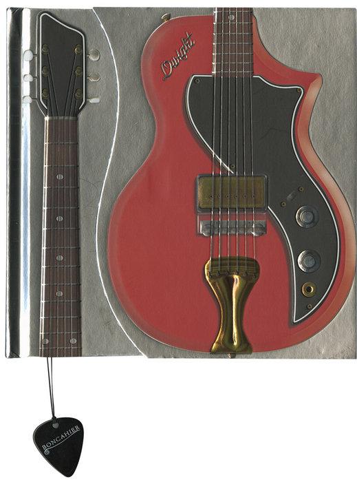 Cuaderno boncahier guitars dwight valco supro