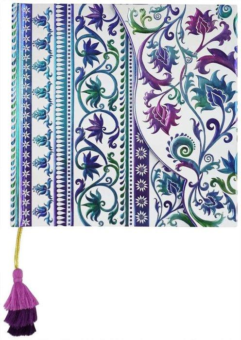 Cuaderno boncahier mediterraneo 1 con solapa y borla