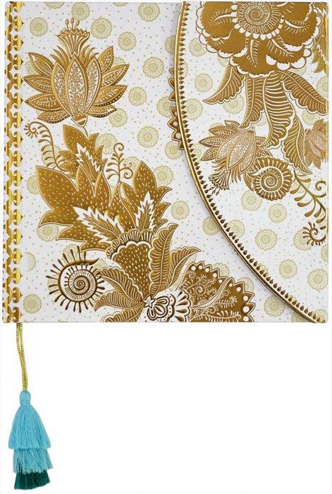 Cuaderno boncahier mediterraneo 4 con solapa y borla