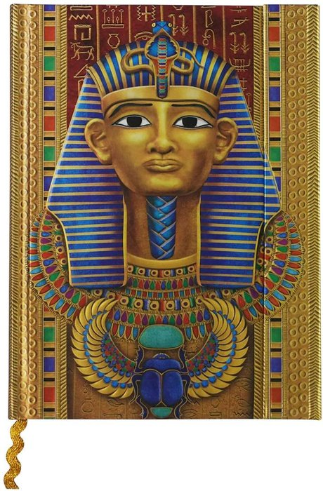 Cuaderno boncahier egipto 3 con solapa magnetica
