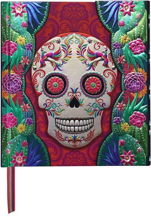 Cuaderno boncahier cielito lindo 2 con cinta